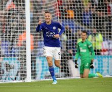 Istrinya Diejek, Jamie Vardy Bungkam Pendukung Burnley Dengan Gol!