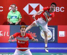 Babak Pertama French Open 2019, Momen Kevin Sanjaya Lakukan Smash Angin