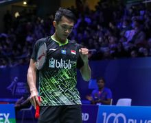 Perempat Final French Open 2019 - Head to Head Jonatan Christie Vs Anders Antonsen