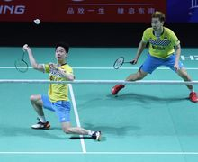 Kevin Sanjaya Kembali Tengili Duo Menara China di BWF World Tour Finals 2019