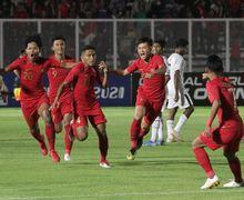 Kualifikasi Piala AFC U-19 2020 - Dua Gol dengan Skema Apik Garuda Nusantara di Babak Pertama