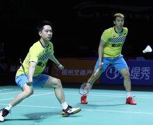 Hong Kong Open 2019 - Tak Disangka! Aksi Kevin Sanjaya Ini Sukses Bikin Penonton Tercengang
