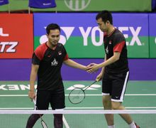 Hasil Hong Kong Open 2019 - Taklukan Duo Menara China, Ahsan/Hendra ke Final!