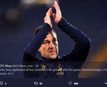 Kembali ke Stamford Bridge, John Terry Disambut Bak Pahlawan