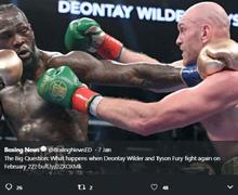 Link Live Streaming Deontay Wilder Vs Tyson Fury, Menanti Aksi Jagoan Mike Tyson!