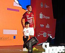 Jersey Bali United Dicap Koran Berjalan, Manajemen Balas dengan Santai