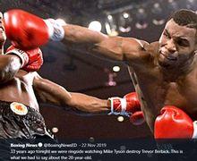 VIDEO - Adu Jotos Mike Tyson Vs Lennox Lewis Bikin Konferensi Pers Hancur!