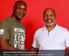 Evander Holyfield Punya Rencana Jahat Jika Duel Lagi dengan Mike Tyson
