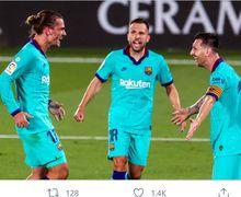 Akui Sudah Akur, Griezmann Ibaratkan Lionel Messi Mirip dengan Mbappe