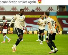 Paul Pogba Cuma Bisa Kagum Lihat Aksi Bruno Fernandes di Man United