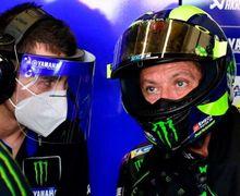 Naik Podium, Valentino Rossi Sempat Cekcok dengan Tim Mekanik Yamaha
