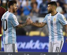 Berita Transfer - Isu Kepindahan Lionel Messi Mulai Bikin Sergio Aguero Muak