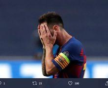 Barcelona Bikin Lionel Messi Sadar, Banyak Orang Palsu di Sekitarnya