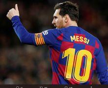 Paris Saint-Germain Berencana Boyong Lionel Messi, Tetapi...