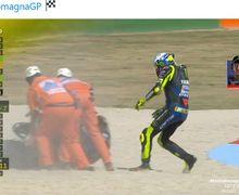 MotoGP Emilia Romagna 2020 - Gagal Finis, Valentino Rossi: Ini Memalukan!