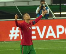 Portugal Vs Spanyol Imbang, Cristiano Ronaldo Emosi ke Wasit