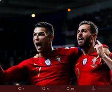 6 Kali Tes dalam Satu Minggu, Cristiano Ronaldo Positif Covid-19