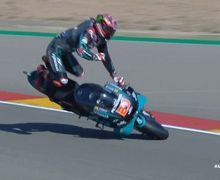 Kondisi Fabio Quartarao Usai Kecelakaan pada FP3 MotoGP Aragon 2020