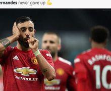 VIDEO - Reaksi Lucu Bruno Fernandes Saat Dipilih Dadakan Jadi Kapten Man United vs PSG