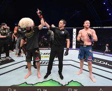 UFC 254 Diakhiri Kabar Pensiun Nurmagomedov, Ferguson Terkena Imbasnya