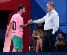 Soal Masa Depan Lionel Messi di Barcelona, Begini Kata Ronald Koeman