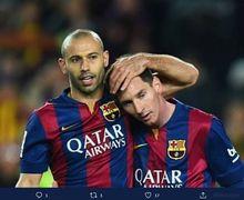 Ketika Messi Menyentuh Bola, Mantan Pemain Barca Rasakan Sensasi Aneh!