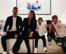 Sambut 2021 dengan Ciuman Mesra, Istri Messi Dibuntuti Rumor Lama Ini!