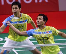 Thailand Open 2021 - Ahsan/Hendra Telan Pil Pahit, Asa Indonesia Juara Dipastikan Berakhir