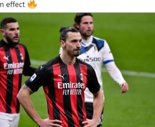 AC Milan Dibantai di Kandang, Ibrahimovic Merasa Bermain Sendirian!