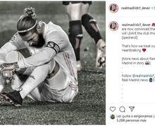 Kabar Buruk Real Madrid, Sergio Ramos Susul Eden Hazard Menepi