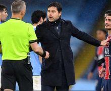Man City Menang, Wenger Dukung Pemain PSG Kritik Wasit 'Kontroversial'