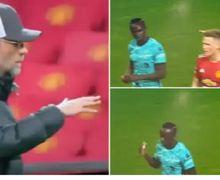 VIDEO - Dingin! Mane Tak Acuhkan Klopp saat Liverpool Pecundangi Man United