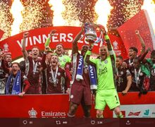 Maaf Chelsea, Leicester Juara Piala FA Berkat Rekor Sempurna Rodgers!