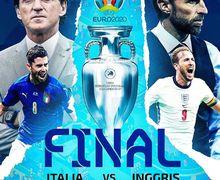 Link Live Streaming Final EURO 2021:Italia Vs Inggris - London Jadi Saksi!