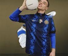 Inter Milan Tunjukkan Jersey Terbarunya, Pemain Siap Jadi Ular!