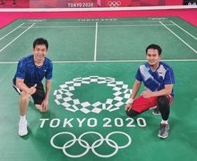 Olimpiade Tokyo 2020 - Ahsan/Hendra Tak Acuh dengan Rekor Head to Head Lawan di Perempat Final