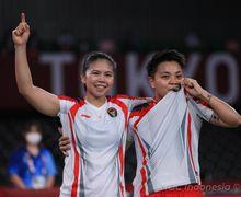 Rekap Olimpiade Tokyo 2020 - Kejutan Greysia/Apriyani & Ginting Raih Medali, Unggulan Indonesia Berakhir Tragis
