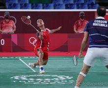 Olimpiade Tokyo 2020 - Kecepatan Ginting Bangunkan Kevin Cordon dari Mimpi Indahnya