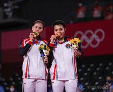 Media Inggris Turut Soroti Hadiah Berlimpah Greysia/Apriyani Usai Raih Emas di Olimpiade Tokyo 2020