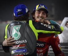 MotoGP Aragon 2021 - Suara Hati Valentino Rossi Usai Anak Didiknya Juara!