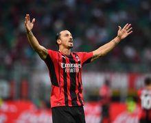 Zlatan Ibrahimovic Pancing Keributan di Laga AC Milan Vs Lazio, Sarri Sampai Dapat Kartu Merah