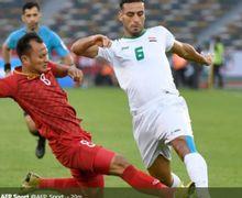 Video - Roberto Carlos dari Irak Dihujat Habis-habisan Usai Gagal Tiru Messi Lakukan Penalti Panenka