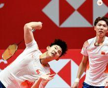 Hasil Fuzhou China Open 2019 - Duo Menara China Tinggal Dua Langkah Lagi Bertemu Marcus/Kevin
