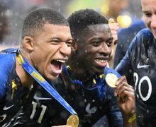 Laku 1 Miliar, Pemain Skuat Timnas Prancis Diam-diam Jual Medali Emas Piala Dunia 2018