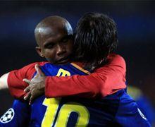 Pesan Lionel Messi pada Samuel Eto'o yang Gantung Sepatu Bikin Penyerang Kamerun Itu Tak Bisa Berkata-kata