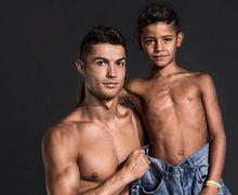 Putra Cristiano Ronaldo Kaget saat Lihat Rumah Masa Kecil Ayahnya