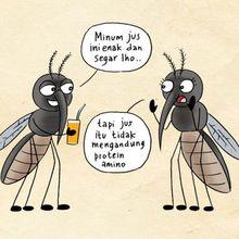 Waspada Nyamuk Demam Berdarah, Kenali Ciri-ciri Nyamuk Ini, yuk!