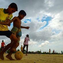 Demam Piala Dunia Masih Bergema di Kamp Pengungsian Rohignya