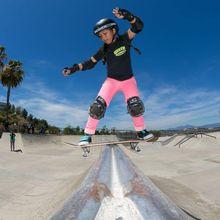 Mengintip Latihan Aliqqa Kayyisa si Skateboarder 9 Tahun di California untuk Asian Games 2018