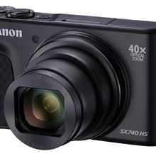 Canon PowerShot SX740 HS, Kamera Saku dengan 40x Optical Zoom